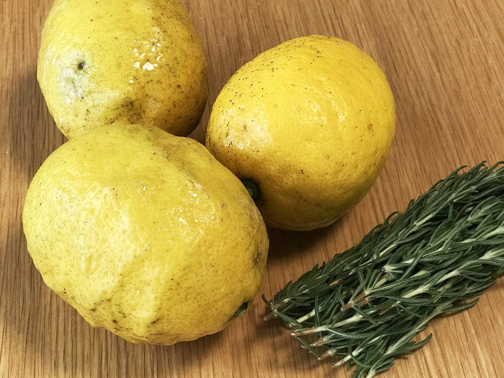 レモンとローズマリー